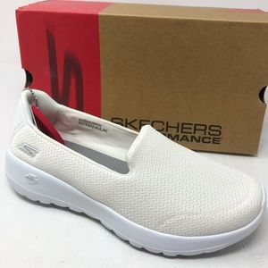 SKECHERS Go Walk Joy Radiant sneakers 9 off white